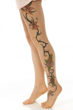 Cool Tiger Lily Tattoo for Women
