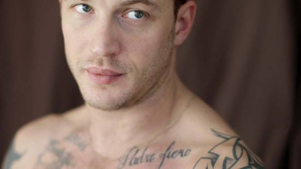 Marsha Lederman For The Globe Amp Mail Tom Hardy Tattoo