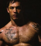 Tom Hardy A Perfect Example Of  Tattoos