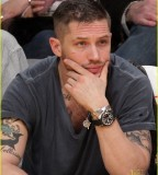 Grand Tattoo Tom Hardy in the Left and Right Arm