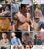 Tom Hardy Photo Collection with Tattoos