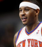 Warner Bros Logo Inked on Carmelo Anthony's Left Shoulder