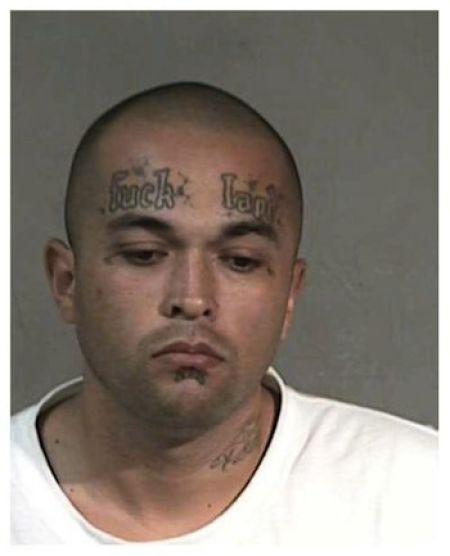 Crazy Mugshot Tattoo (NSFW)