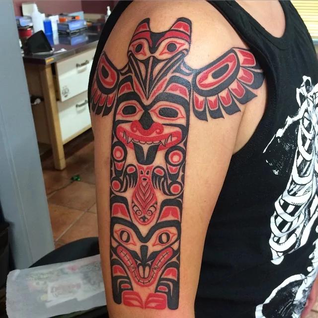 totem tribal tattoo