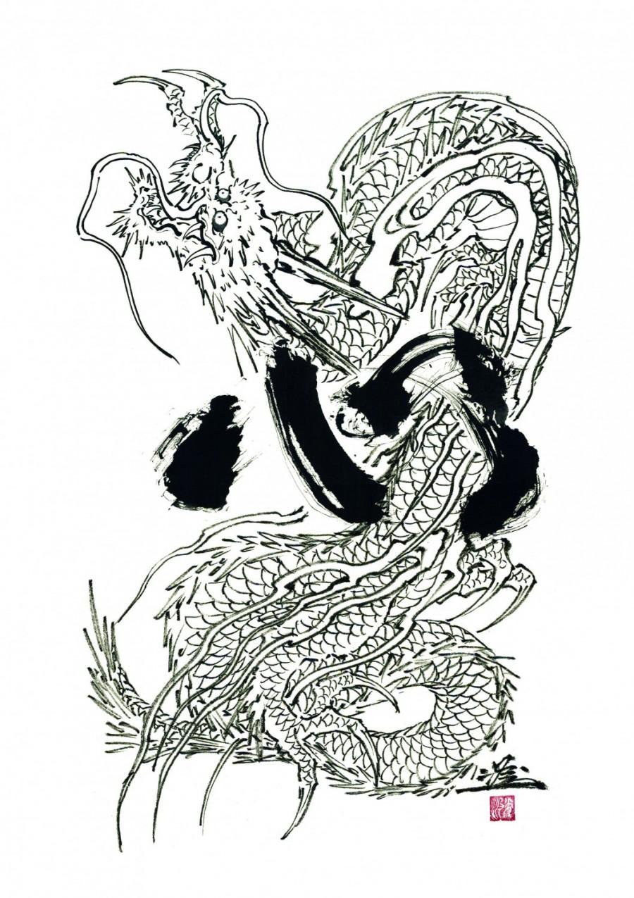 Horiyoshi iii Ryushin Dragon Tattoos Pictures