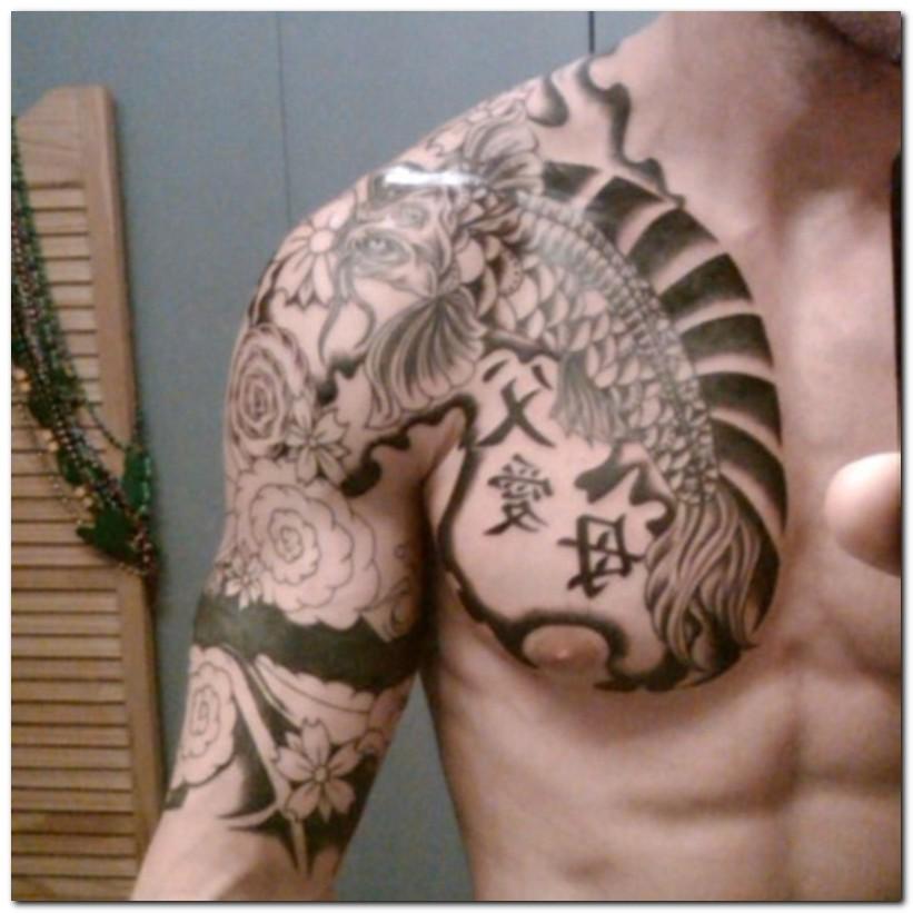 Full Back Japanese Tattoo Design Body Art