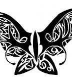 Fancy Butterfly Tramp Stamp Tattoo By Ryvienna On Deviantart