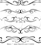 Imaginative Clipart Black Tribal Tramp Stamp Tattoo Design