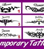 Stylish Tribal Tramp Stamp Temporary By Nzace
