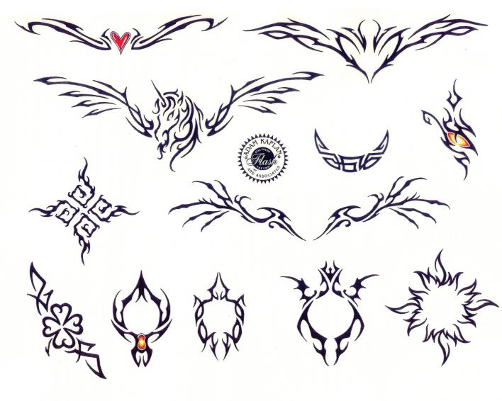 79a323b1e Exquisite Tattoo Design Sticker. Posted in gallery: Tramp Stamp ...