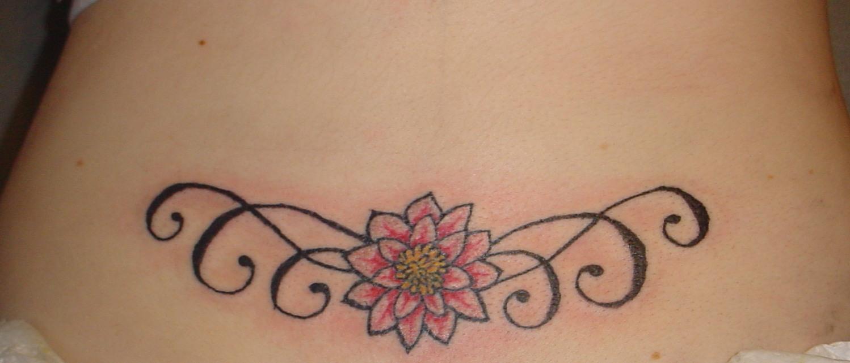 lower back tattoo 36
