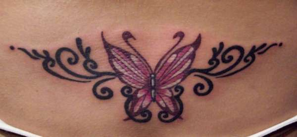 e6dbfe18da0d9 Imaginary Picture Of Butterfly Tramp Stamp Tattoo Ideas ...