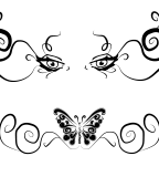 Creative Lower Back Tattoo Style