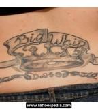Classy Tramp Stamp Tattoo