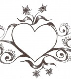 Stylized Tramp Stamp Heart Inspiration By Beygurl