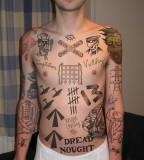 Full Body Tom Fogarty Tattos