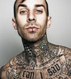 Popular Tattoos of Travis Barker Blink182