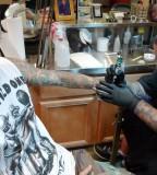 Travis Barker Arm Tattoo Design