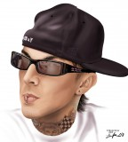 Cool Travis Barker Caricature