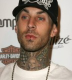 Travis Barker Neck Tattoo Trend Pictures