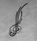 Elegant Small Treble Clef Tattoo for Women and Men