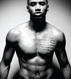 Cool Trey Songz Chest Tattoo Design Photo