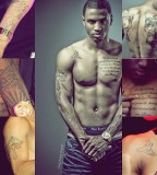 Trey Songz Tattoo On Chest, Forearm, Upper Arm, Back and More