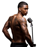 Trey Songz Tattoo On His Back