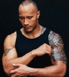 Dwayne Douglas Johnson (The Rock) Arm Tribal Tattoo