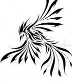 Lovely Phoenix Tattoo Ideas