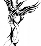 Tribal Tattoo Flash The Phoenix