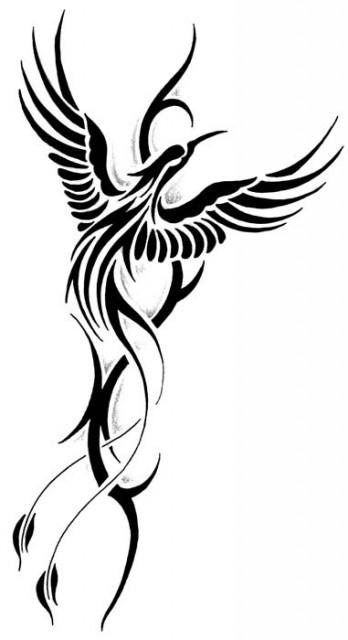 Tribal Tattoo Flash The Phoenix