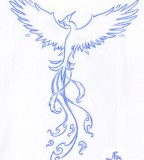 Tribal Phoenix Tattoo Designs Ideah