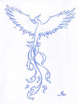 Tribal Phoenix Tattoo Designs Ideah