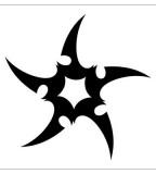Tribal Star Tattoo Design Ideas for Tattoo - Tribal Tattoos
