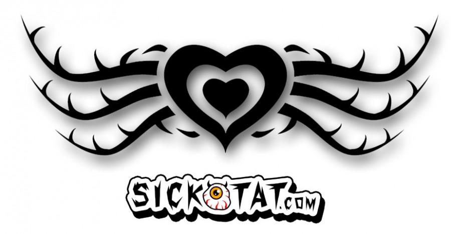 Tribal Hearts Tattoo Design Ideas by Sicktat – Tribal Tattoos