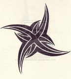 Awesome Tribal Star Sketches for Tattoo Design by Xwhitewolf24x (Deviantart)