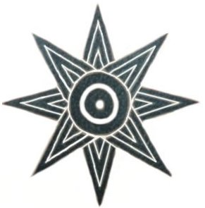 Symmetrical Tribal Star / Star Tribal Tattoo Designs – Star Tattoos