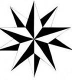 Symmetrical Tribal Star Tattoo Designs by Reagan1118 - Star Tattoos