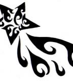 Tribal Nautical Star Tattoo Designs - Tribal Stars Tattoos