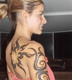 Elegant Tribal Tattoo Designs For Women