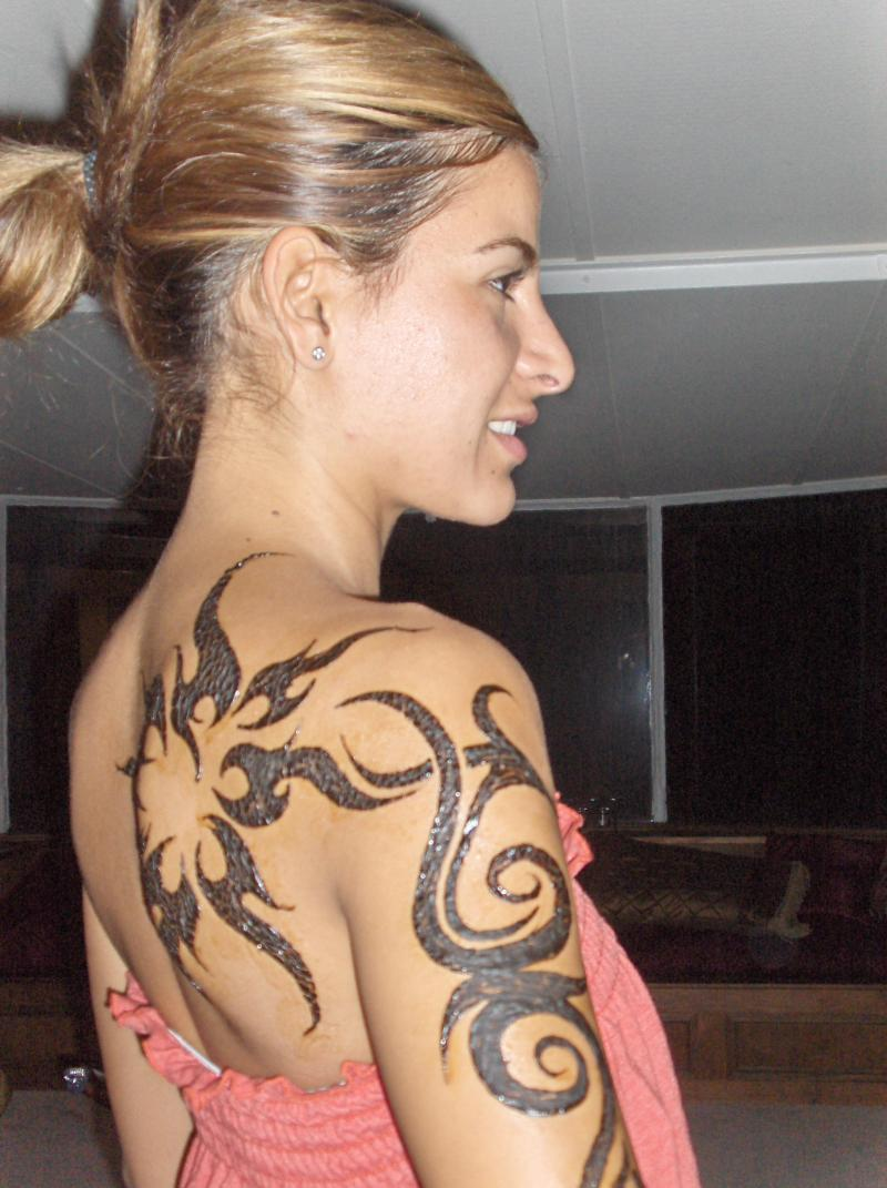 Elegant Tribal Tattoo Designs For Women