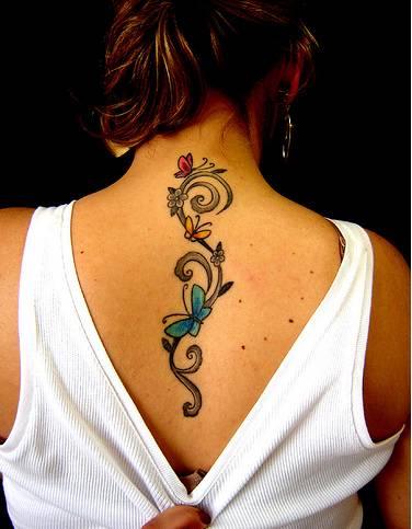 Beautiful Flower Tattoos Women Back Tattoomagz Tattoo Designs