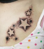 Cute Little New Star Tattoo