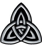 Celtic Trinity Knot Temporary Tattoo Sample