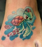 Finding Nemo Baby Sea Turtle Tattoos