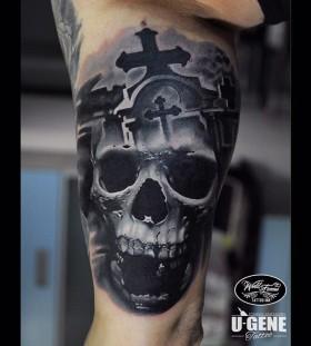 u_genetattoo-cross-and-skull-tattoo