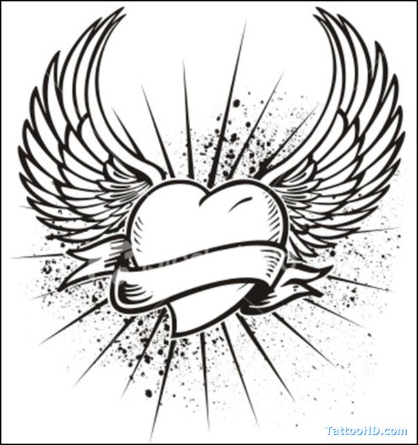 Max Payne Valkyrie Wings Tattoo