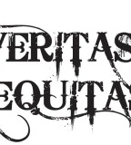 Minimalist Yet Art Full Veritas and Aequitas Tattoo Design