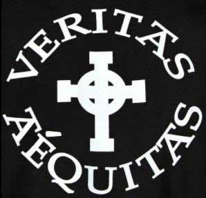 Veritas Et Aequitas Symbol for Tattoo